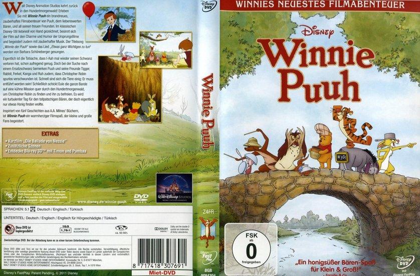 Winnie Puuh DVD oder Bluray leihen  VIDEOBUSTERde