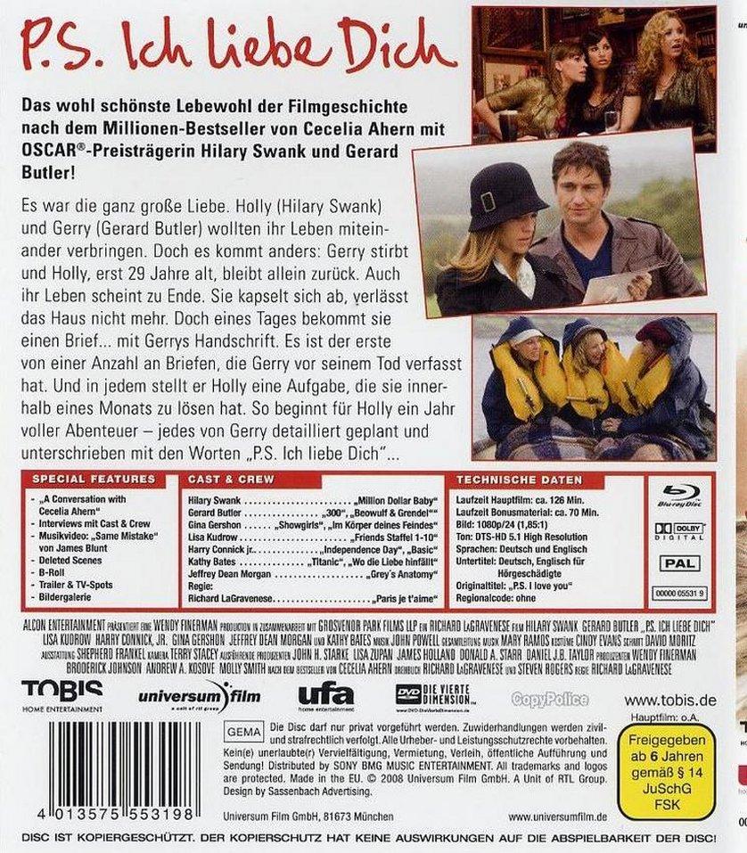 P S Ich Liebe Dich Dvd Oder Blu Ray Leihen Videobuster De