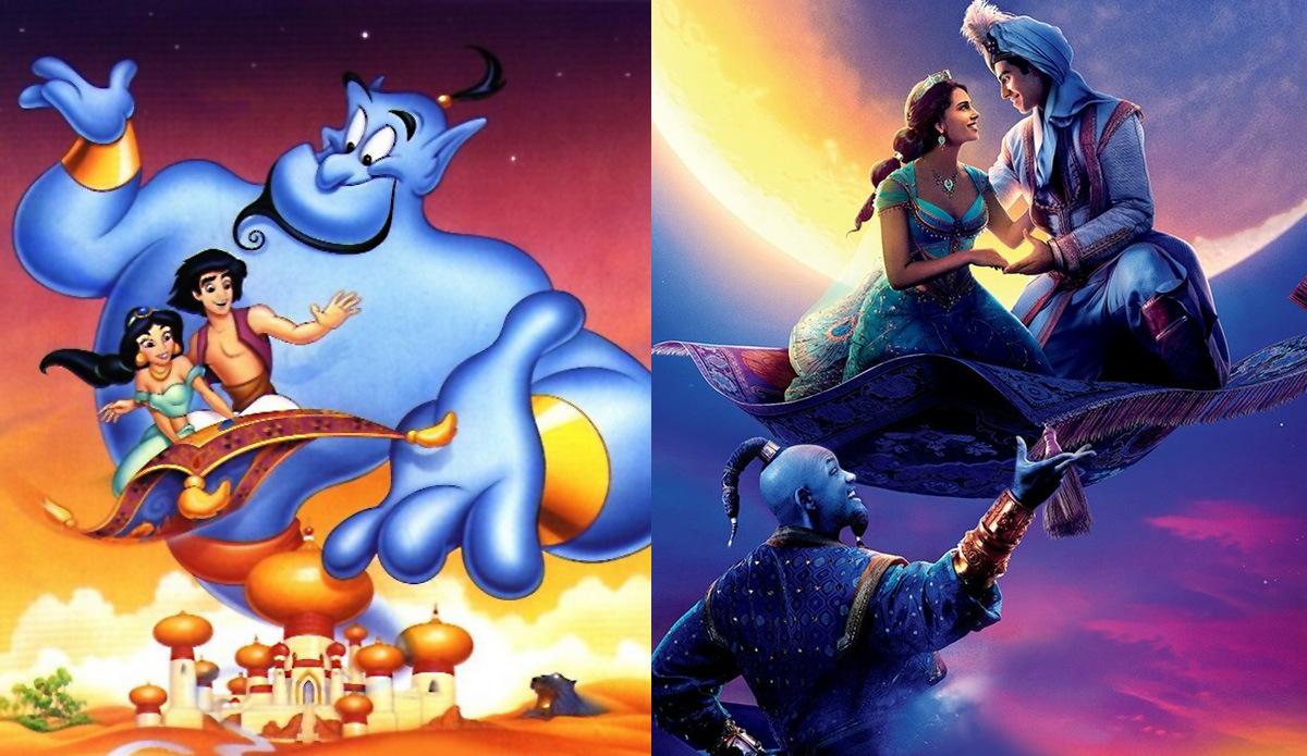 Neue Disney Realverfilmungen: Aladdin 2019 zeigt Will Smith als Flaschengeist Dschinni