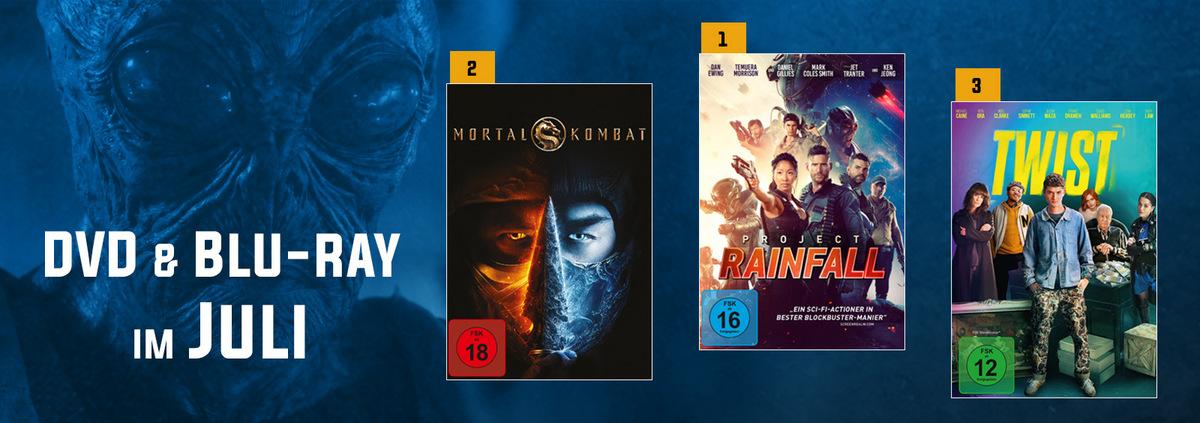DVD & Blu-ray Charts 07-2021: Sci-Fi-Action-Highlight aus Australien siegt im Juli!