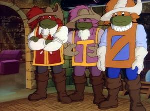 Die 'Turtles' 1987 © NewKSM
