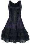 Sinister Gothic Gothic Lolita Minidress Kurzes Kleid schwarz lila powered by EMP (Kurzes Kleid)