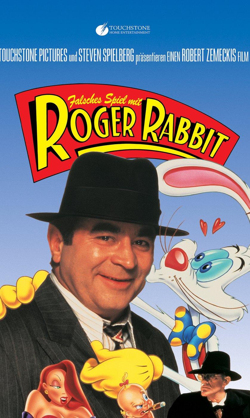 Niedlich Falsches Spiel Mit Roger Rabbit Poster Zeitgenössisch ...