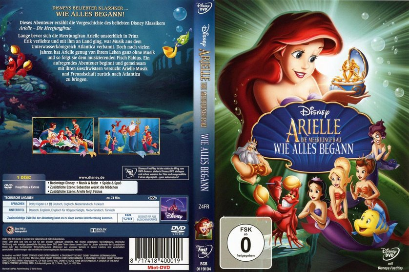 Arielle Wie Alles Begann