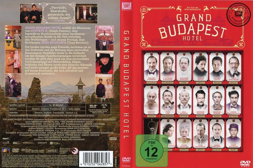 Grand Budapest Hotel Deutsch Stream