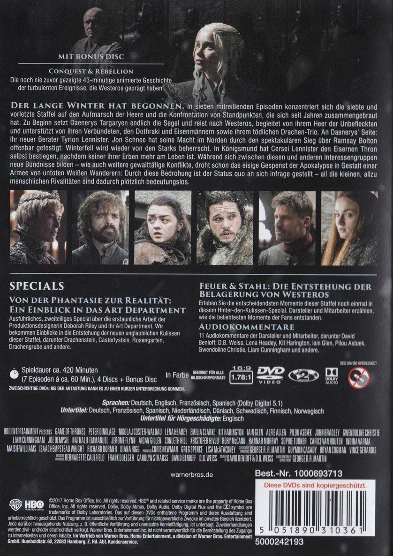 Game Of Thrones Staffel 7 Dvd Oder Blu Ray Leihen Videobusterde