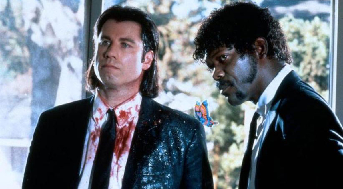 John Travolta und Samuel L. Jackson 1994 in 'Pulp Fiction' © Universum Film