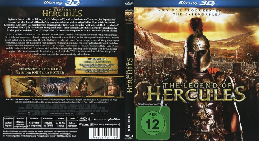 The Legend of Hercules: DVD oder Blu-ray leihen ...