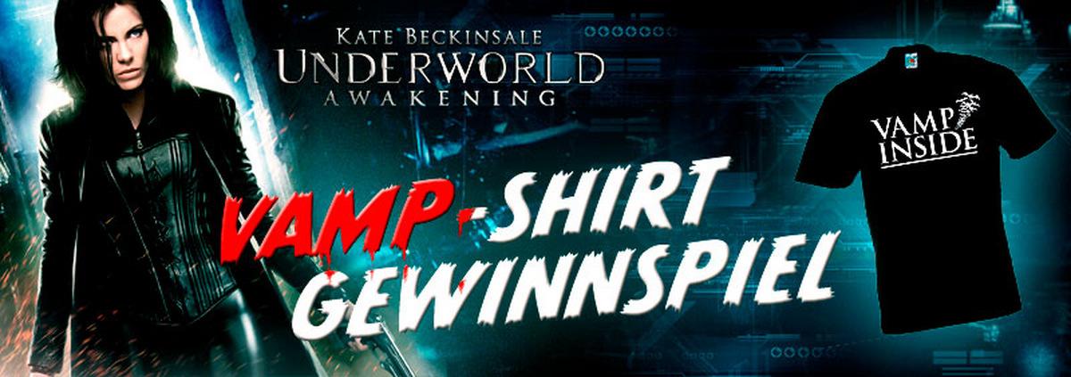 Vamp-Shirt Gewinnspiel: Gewinne ein schwarzes Vamp-Shirt mit Biss!