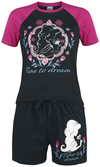 Aladdin Time to Dream Schlafanzug schwarz pink powered by EMP (Schlafanzug)