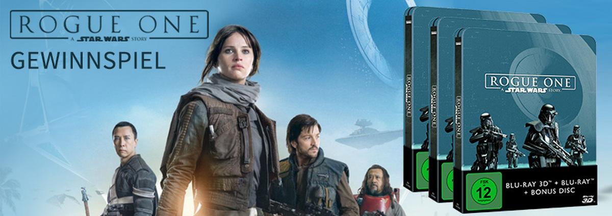 Star Wars ROGUE ONE Gewinnspiel: Möge die Steelbook Limited Edition mit Dir sein
