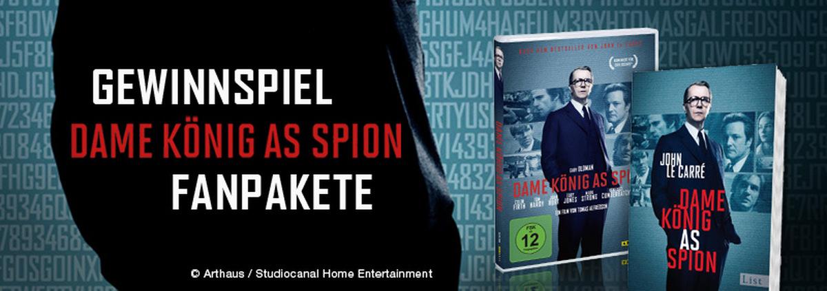 Dame König As Spion Gewinnspiel: Ausspioniert: Fanpakete mit dem Bestseller und der Verfilmung