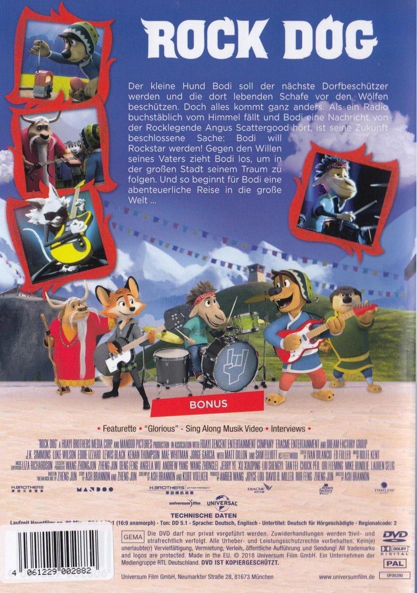 Rock Dog: DVD, Blu-ray oder VoD leihen - VIDEOBUSTER de