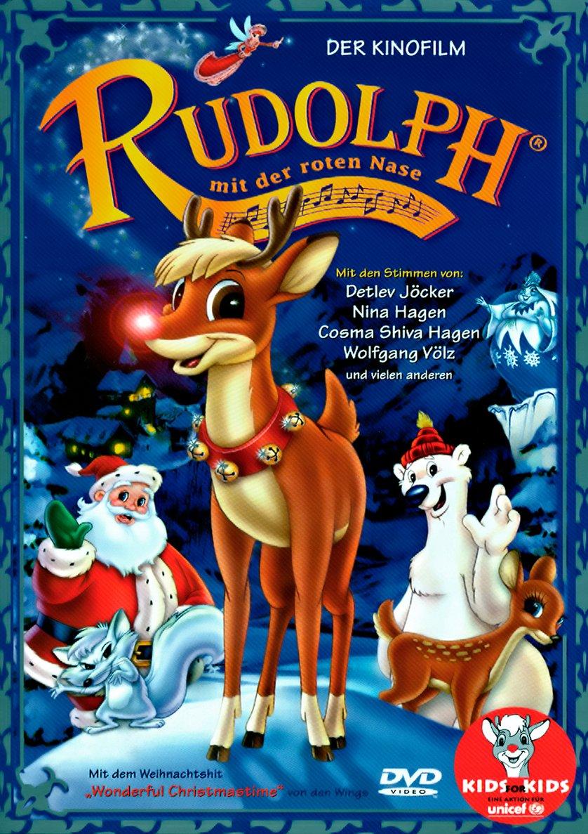 rudolph mit der roten nase - der kinofilm: dvd oder blu