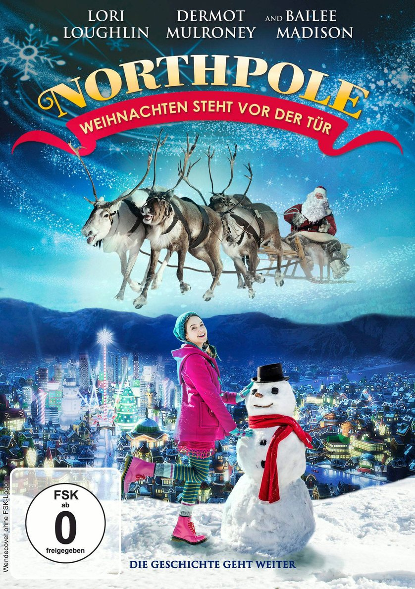 northpole 2 weihnachten steht vor der t r dvd oder blu. Black Bedroom Furniture Sets. Home Design Ideas