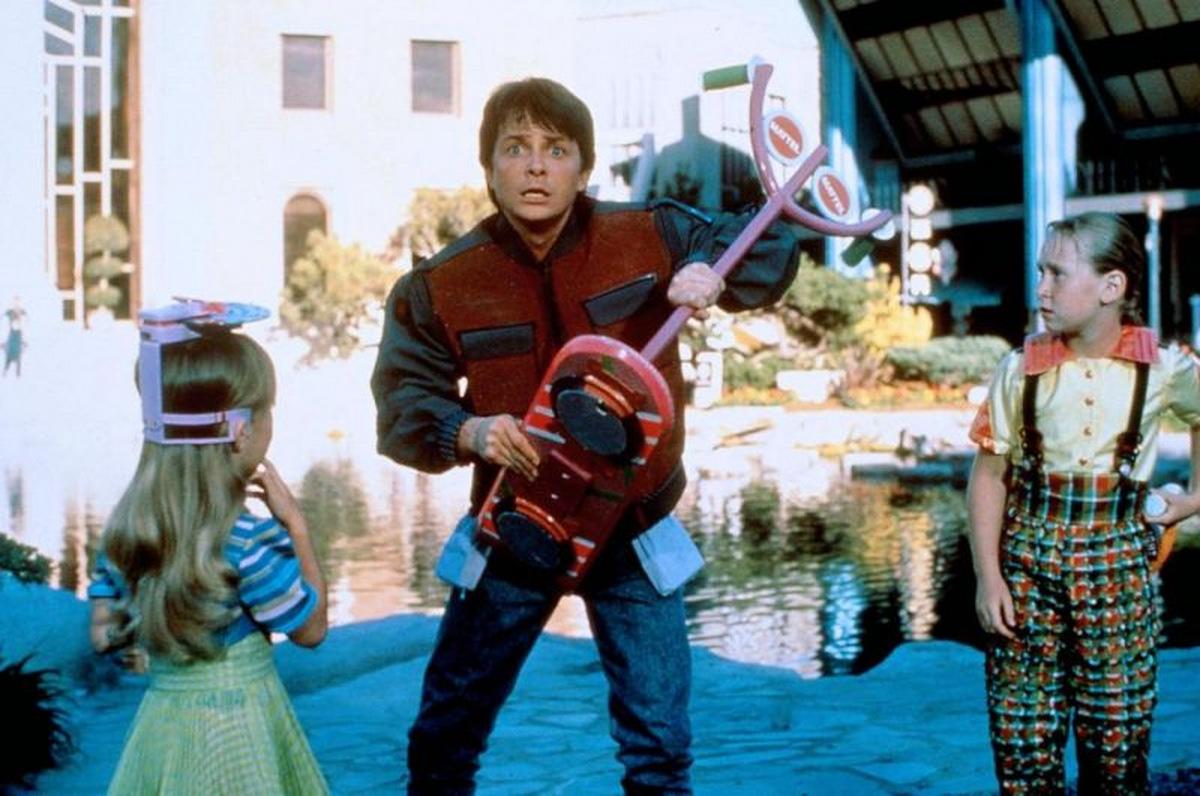 Michael J. Fox in 'Zurück in die Zukunft 2' © Universal Pictures 1989