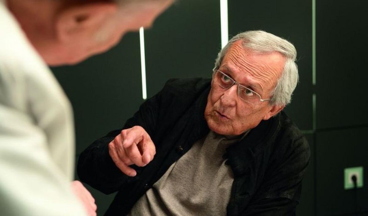 Dieter Hildebrandt in seiner letzten Rolle als Herbie Fried in 'Zettl' (2012) © Warner Home Video