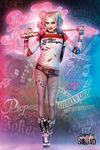 Suicide Squad Harley Quinn Stand powered by EMP (Poster)