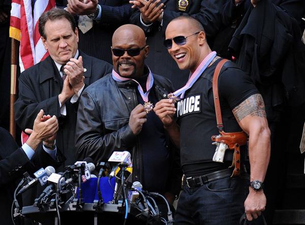 Saucoole Typen: Samuel L. Jackson und Johnson bald gemeinsam im Kino: in 'The Other Guys'