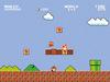 Super Mario Super Mario Bros. (1-1) powered by EMP (Leinwandbild)