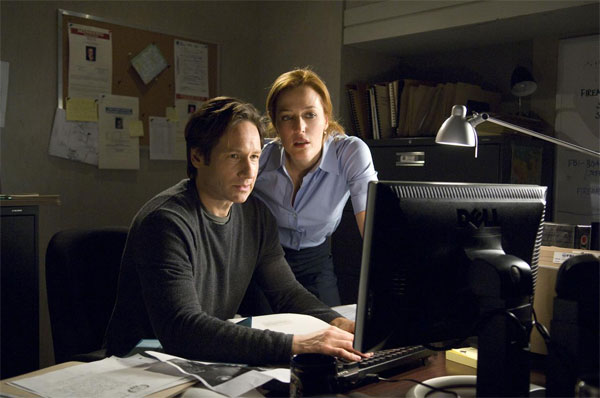 David Duchovny und Gillian Anderson in 'Akte X 2' © 20th Century Fox 2008