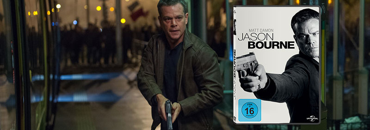 Jason Bourne: Du kennst seinen Namen: Jason Bourne!