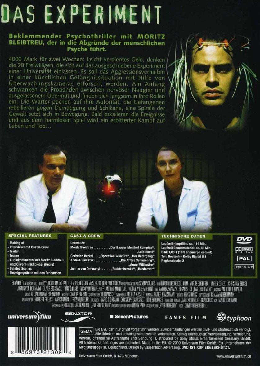 Andrea Sawatzki Experiment das experiment: dvd oder blu-ray leihen - videobuster.de