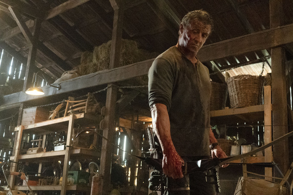 Sylvester Stallone in 'Rambo 5 - Last Blood' © Millennium Films