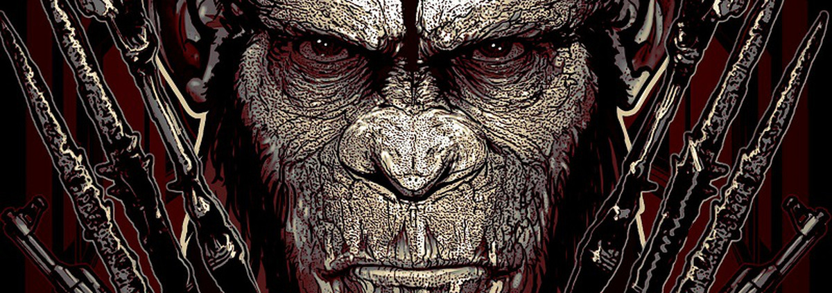 Planet der Affen - Revolution: Online-Poster: Planet der Affen - die Revolution beginnt!