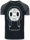 Harry Potter Death Eaters Chibi T-Shirt schwarz grau meliert powered by EMP (T-Shirt)