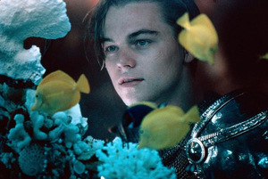 Leonardo DiCaprio in 'Romeo + Julia' © 20th Century Fox 1996