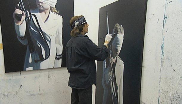 Der Künstler Gottfried Helnwein