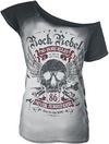 Rock Rebel by EMP All In The Mind T-Shirt schwarz grau powered by EMP (T-Shirt)