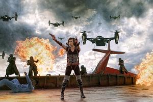 Milla 2012 in 'Resident Evil 5'