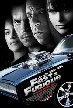 'Fast & Furious 4' Poster © Universal
