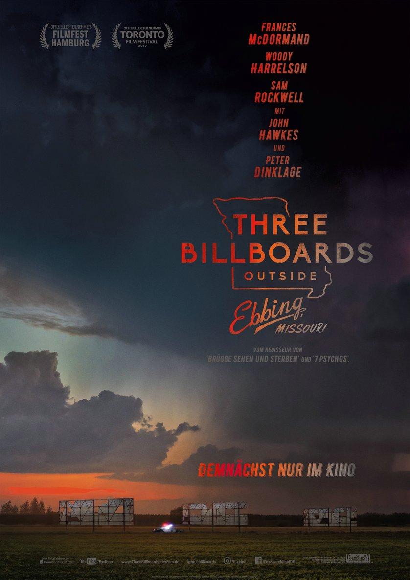 Three Billboards Outside Ebbing Missouri: DVD oder Blu-ray ...