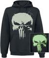 The Punisher Glow In The Dark Skull powered by EMP (Kapuzenpullover)