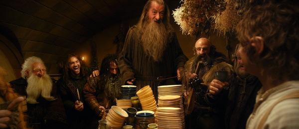 Ian McKellen in 'Der Hobbit - Eine unerwartete Reise' © Warner 2012