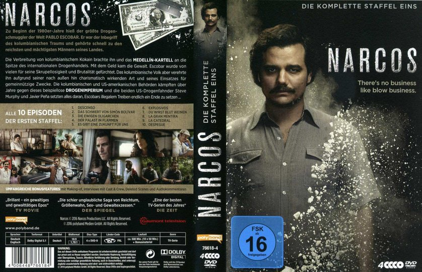 narcos staffel 1 dvd oder blu ray leihen. Black Bedroom Furniture Sets. Home Design Ideas