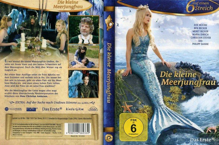 6 auf einen streich die kleine meerjungfrau dvd oder blu ray leihen. Black Bedroom Furniture Sets. Home Design Ideas