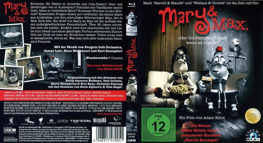 Mary Max Dvd Blu Ray Oder Vod Leihen Videobuster De