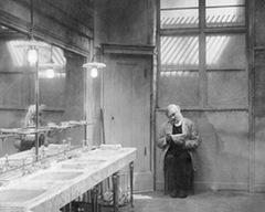 1924: Emil Jannings in 'Der letzte Mann'
