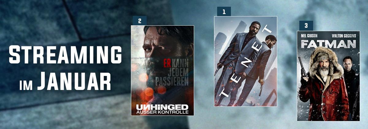 Stream-Charts 01-2021: VoD-Charts: Die besten Streaming Filme Januar 2021