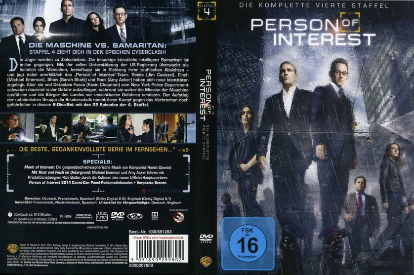 Person Of Interest Staffel 4