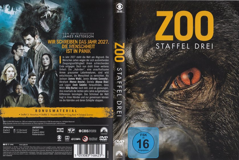 Zoo Staffel 2 Stream Deutsch