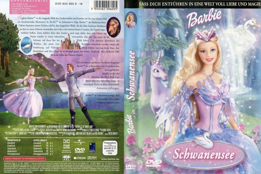 barbie in schwanensee dvd oder blu ray leihen. Black Bedroom Furniture Sets. Home Design Ideas