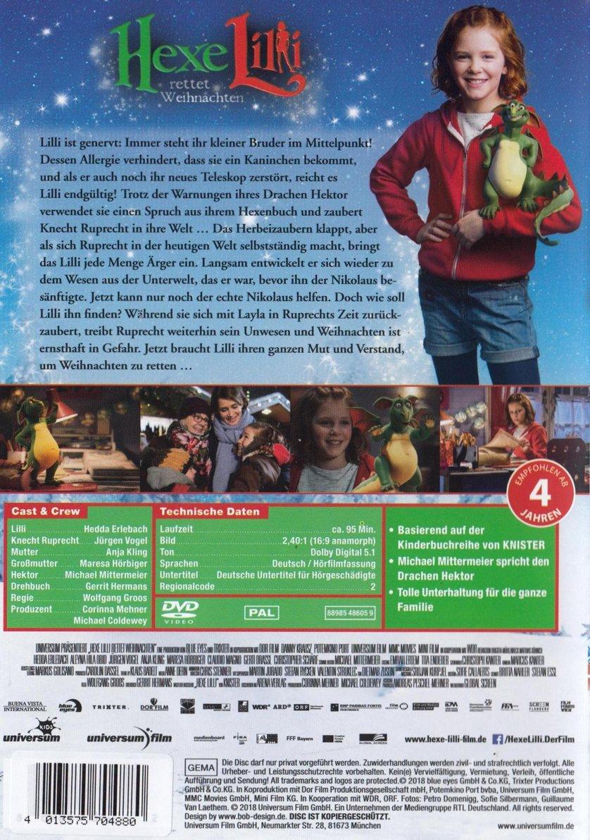 Hexe Lilli Rettet Weihnachten Dvd Blu Ray Oder Vod Leihen