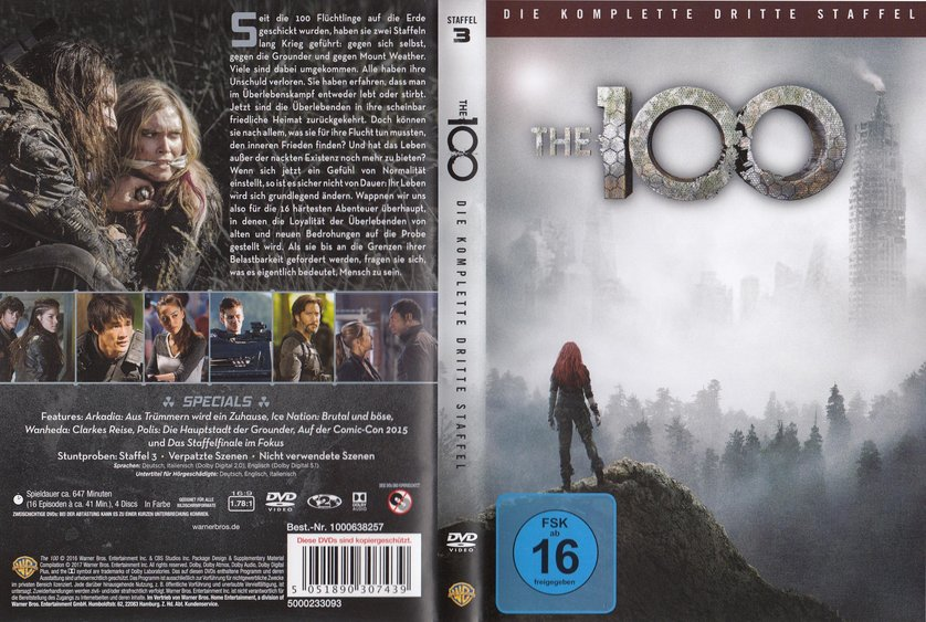 the 100 staffel 3 dvd oder blu ray leihen. Black Bedroom Furniture Sets. Home Design Ideas