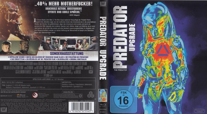 predator upgrade dvd