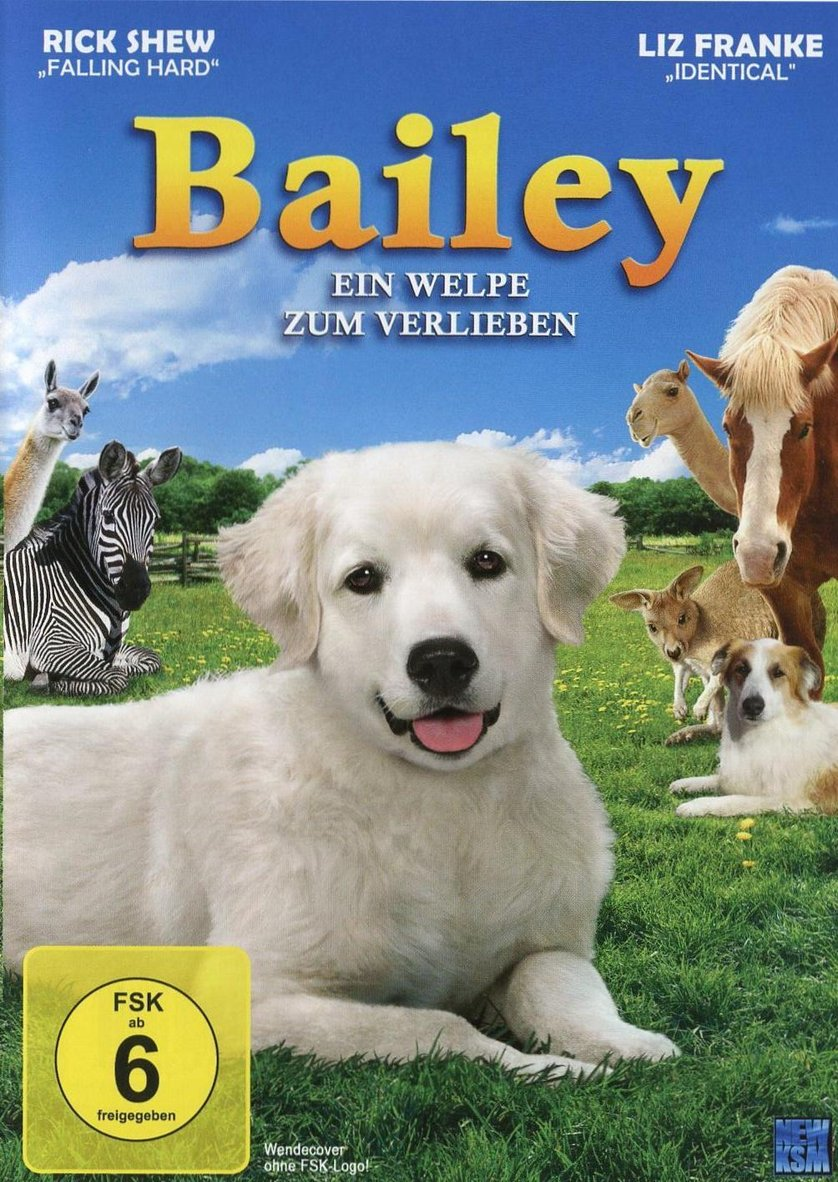 bailey ein welpe zum verlieben dvd oder blu ray leihen. Black Bedroom Furniture Sets. Home Design Ideas